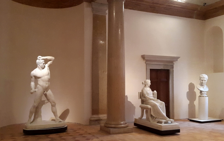 Canova in the Palladian wing. Accademia Galleries, Venice. ph Mara Zanette