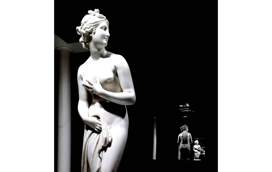 Venus in the lands of Antonio Canova. Gypsotheca e Museo Antonio Canova, Possagno. ph Mara Zanette